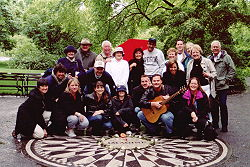 John Lennon Memorial ~ Strawberry Fields, Central Park