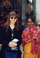 Nola and friend in Nepal